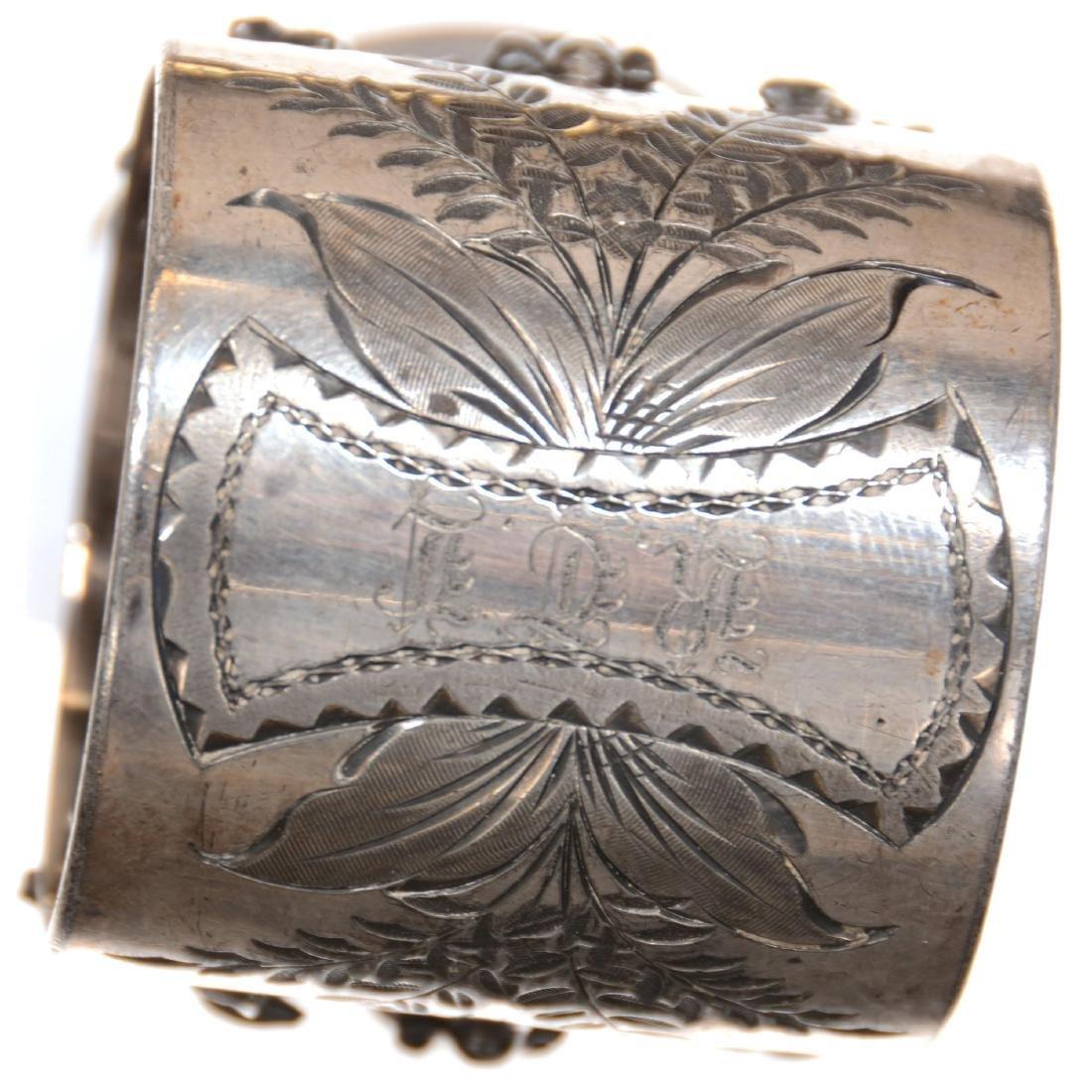 Victorian Figural Napkin Ring - 2