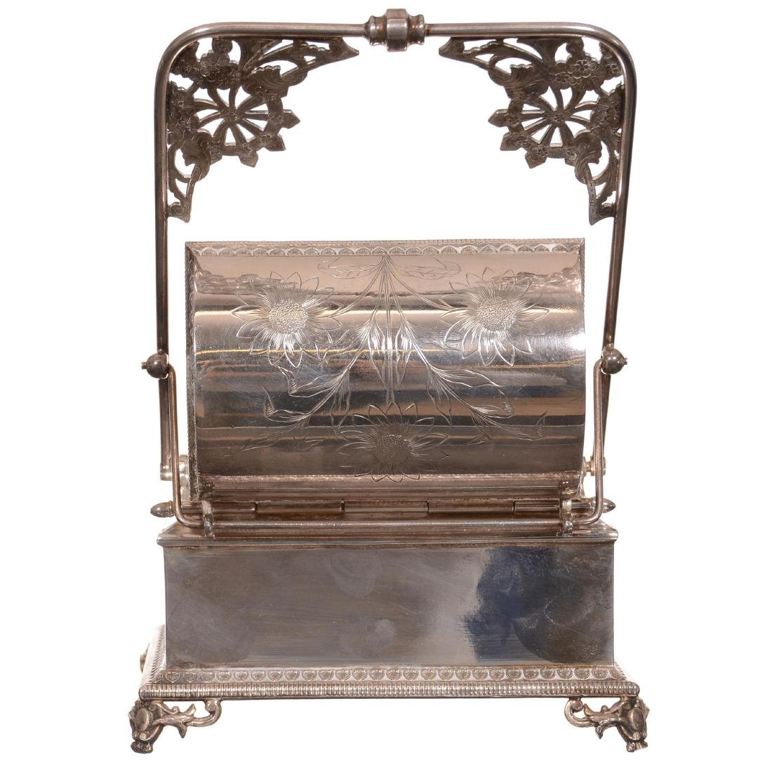 Victorian Mechanical Jewelry Casket - 2