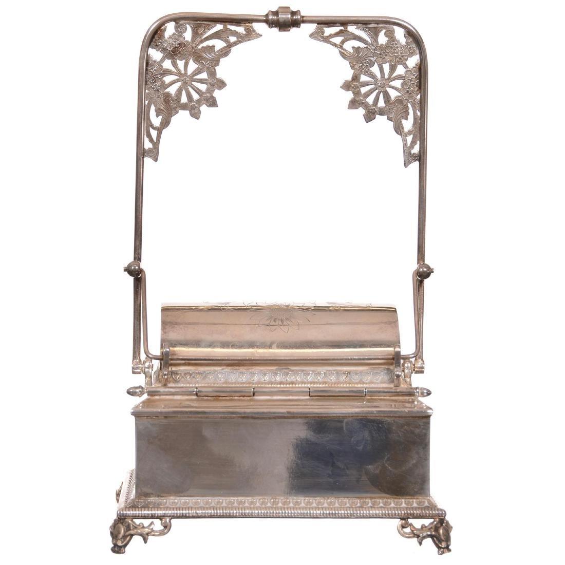Victorian Mechanical Jewelry Casket - 3