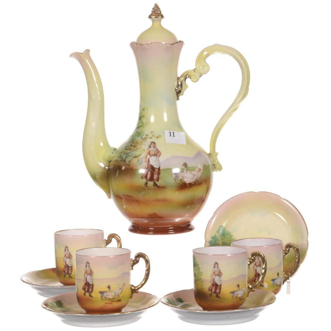 Royal Bayreuth Demitasse Set
