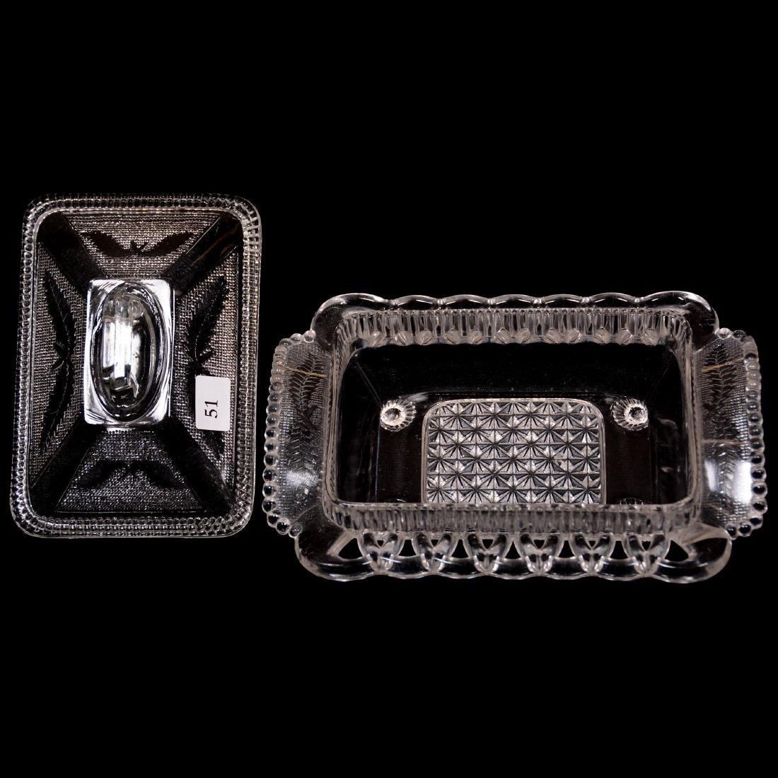 (3) Pattern Glass Items - 3