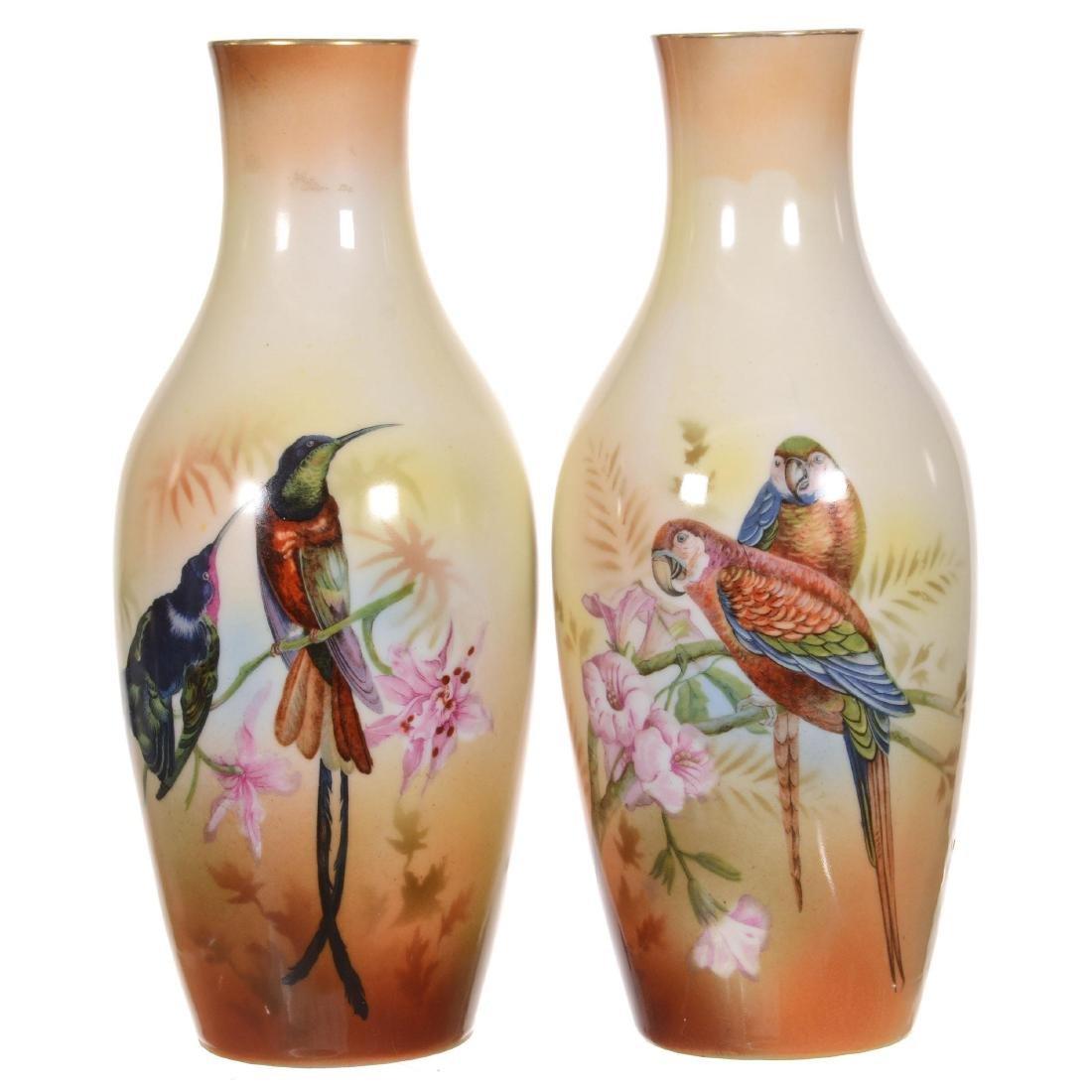 Pair Royal Bayreuth Vases