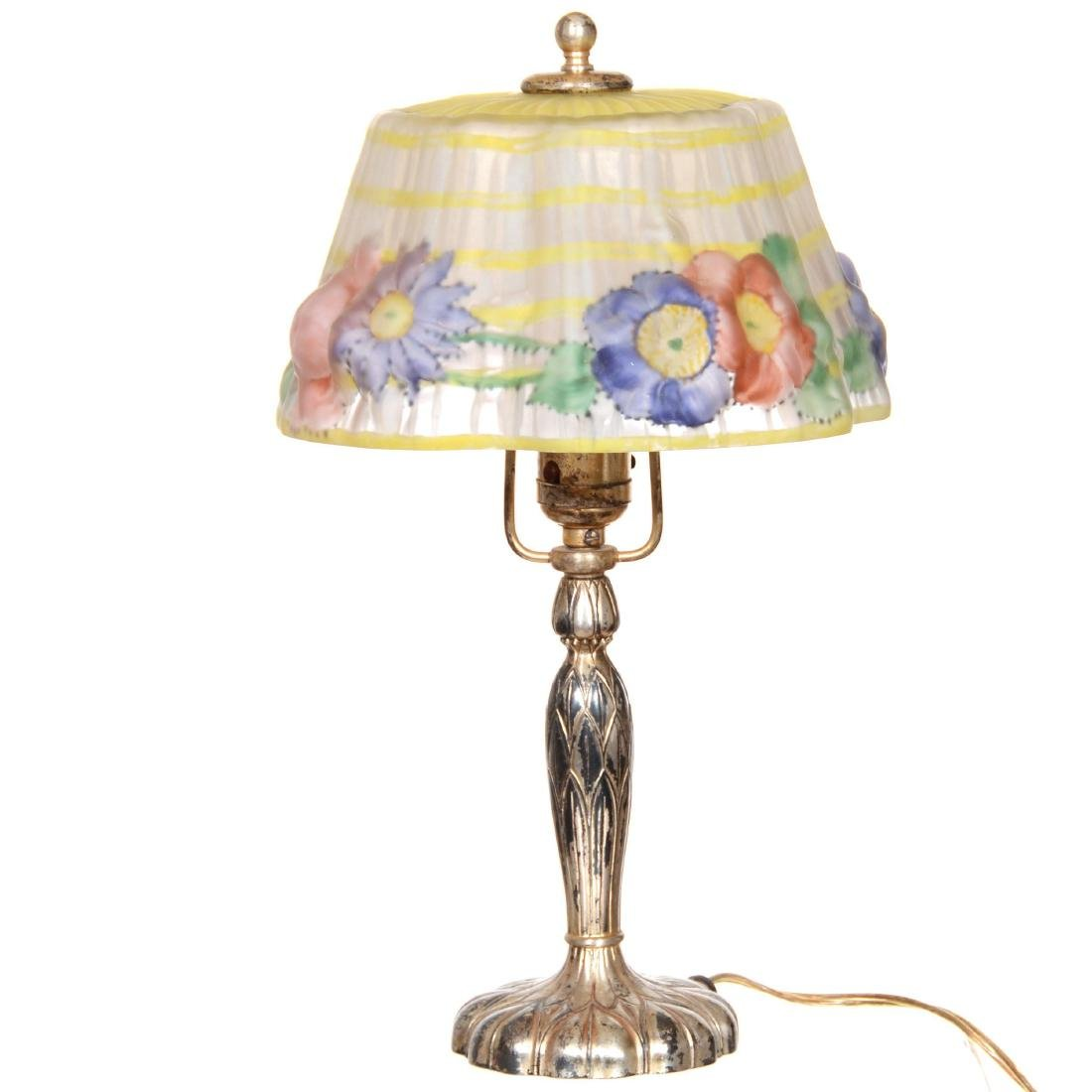 Original Pairpoint Puffy Boudoir Lamp