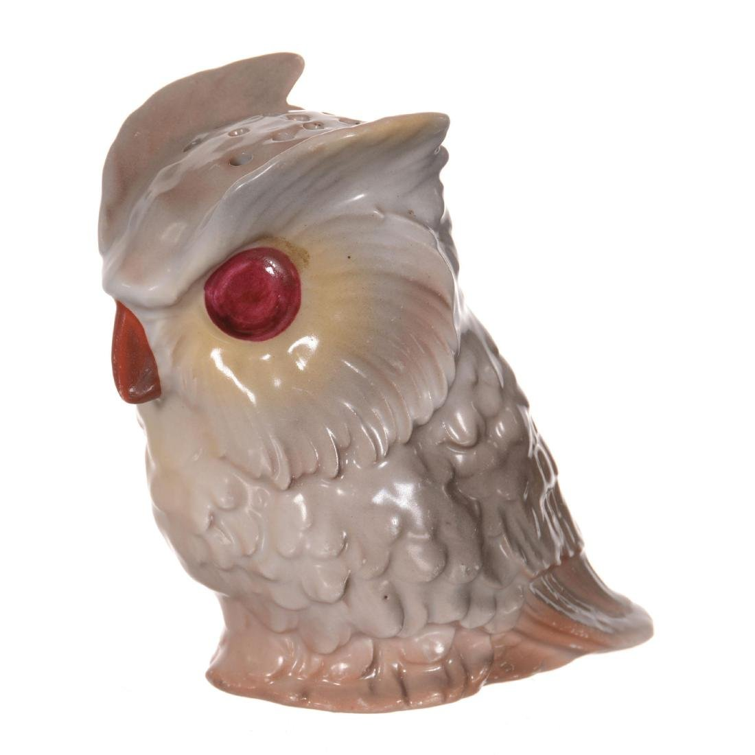 Royal Bayreuth Owl Hatpin Holder