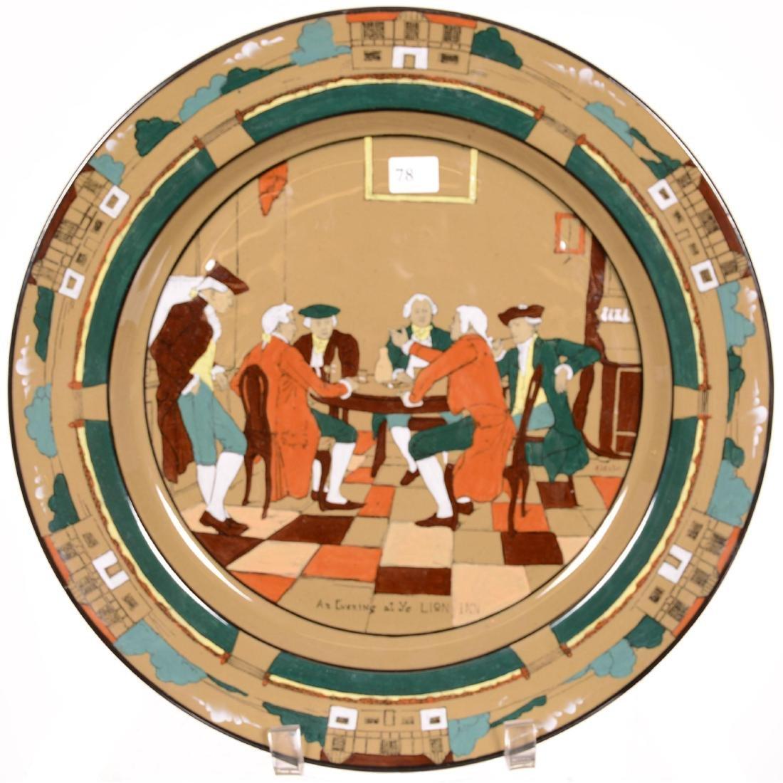Deldare Pottery Platter