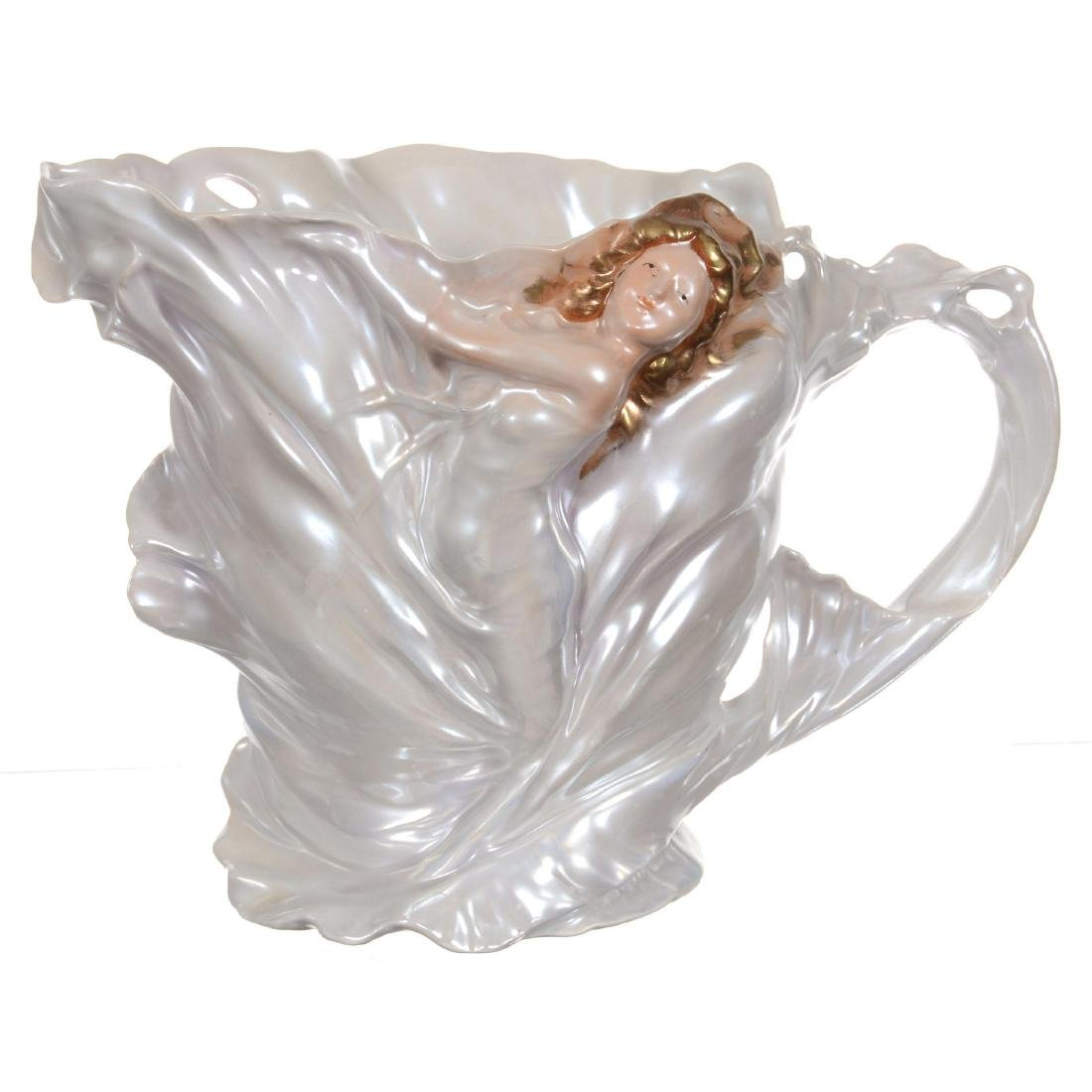 Royal Bayreuth Art Nouveau Water Pitcher