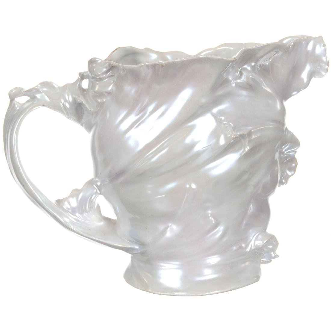 Royal Bayreuth Art Nouveau Water Pitcher - 2
