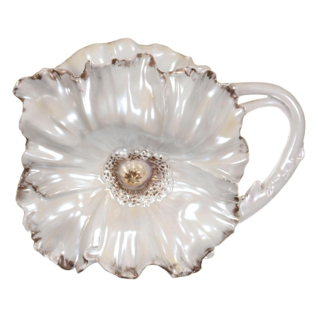 Royal Bayreuth Poppy Water Pitcher