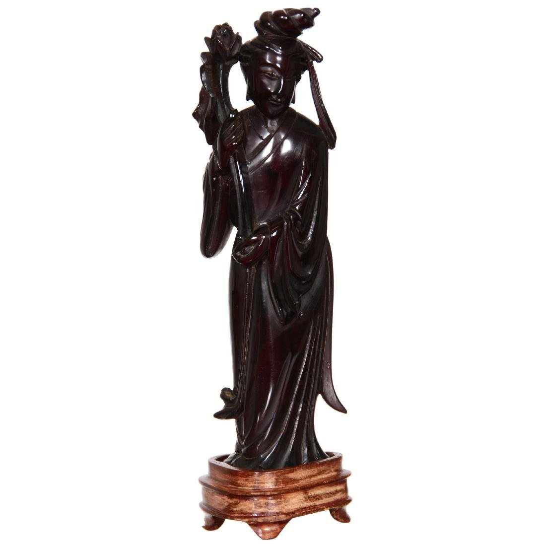 Cherry Amber Figurine