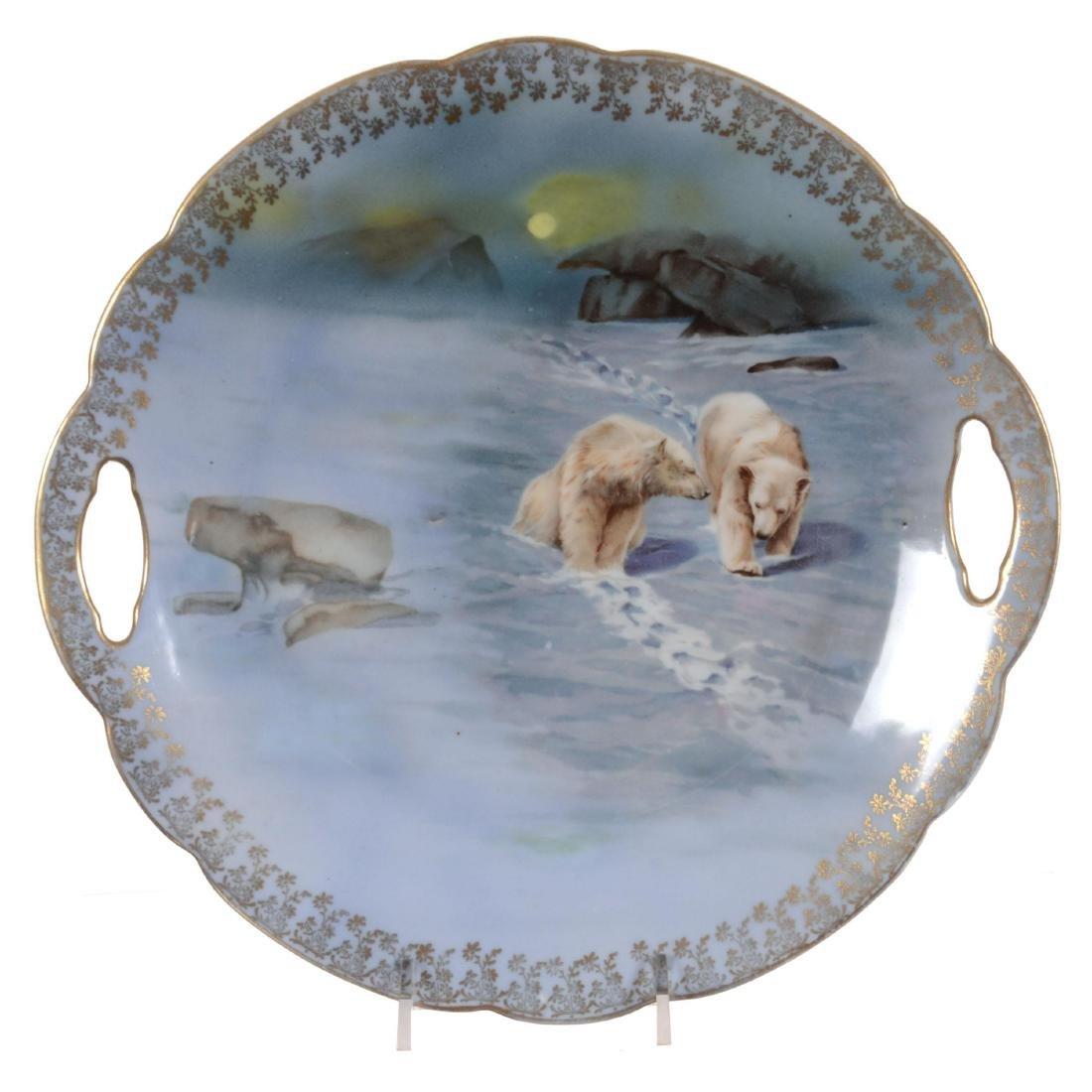 Royal Bayreuth Cake Plate