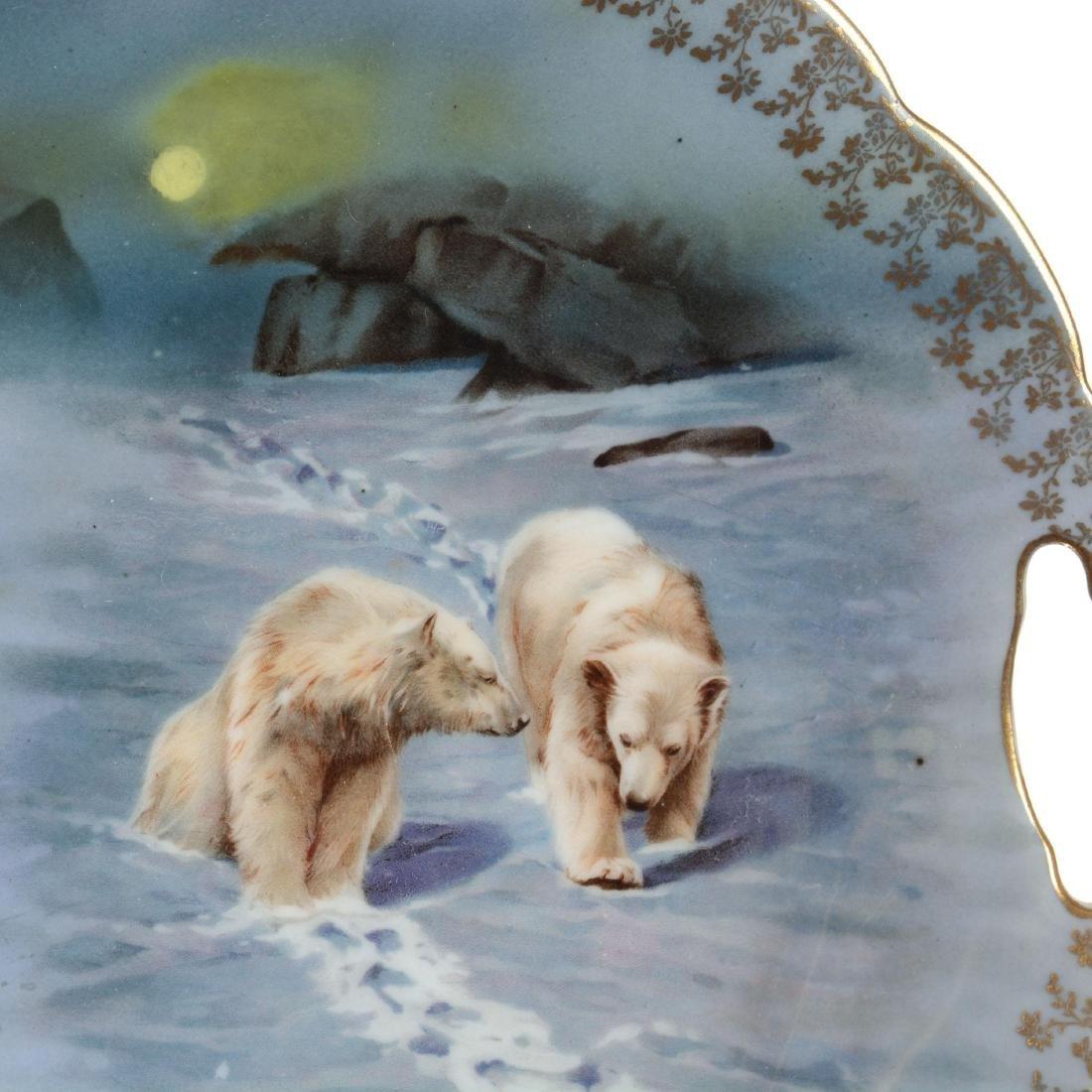 Royal Bayreuth Cake Plate - 2