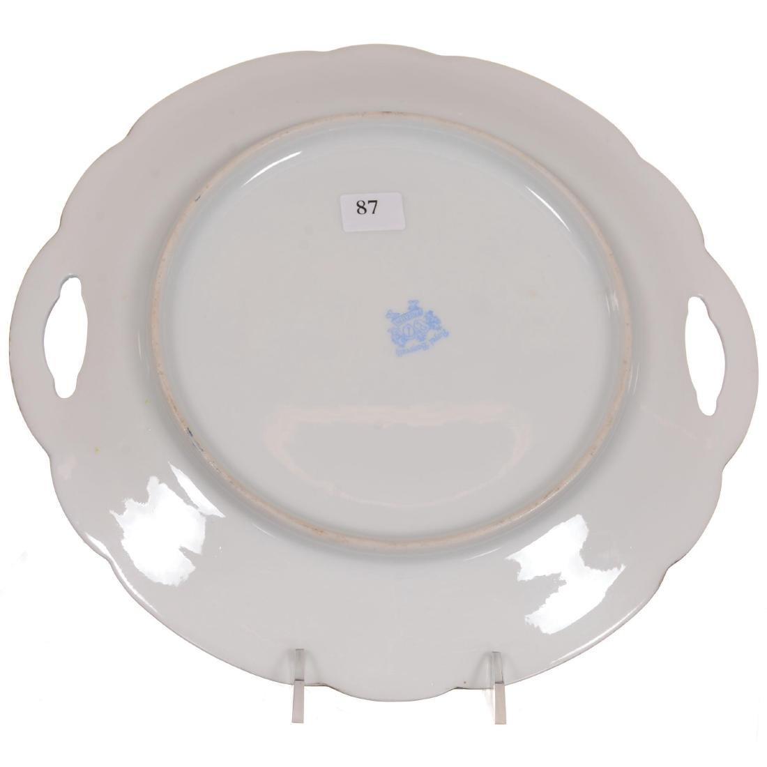Royal Bayreuth Cake Plate - 3