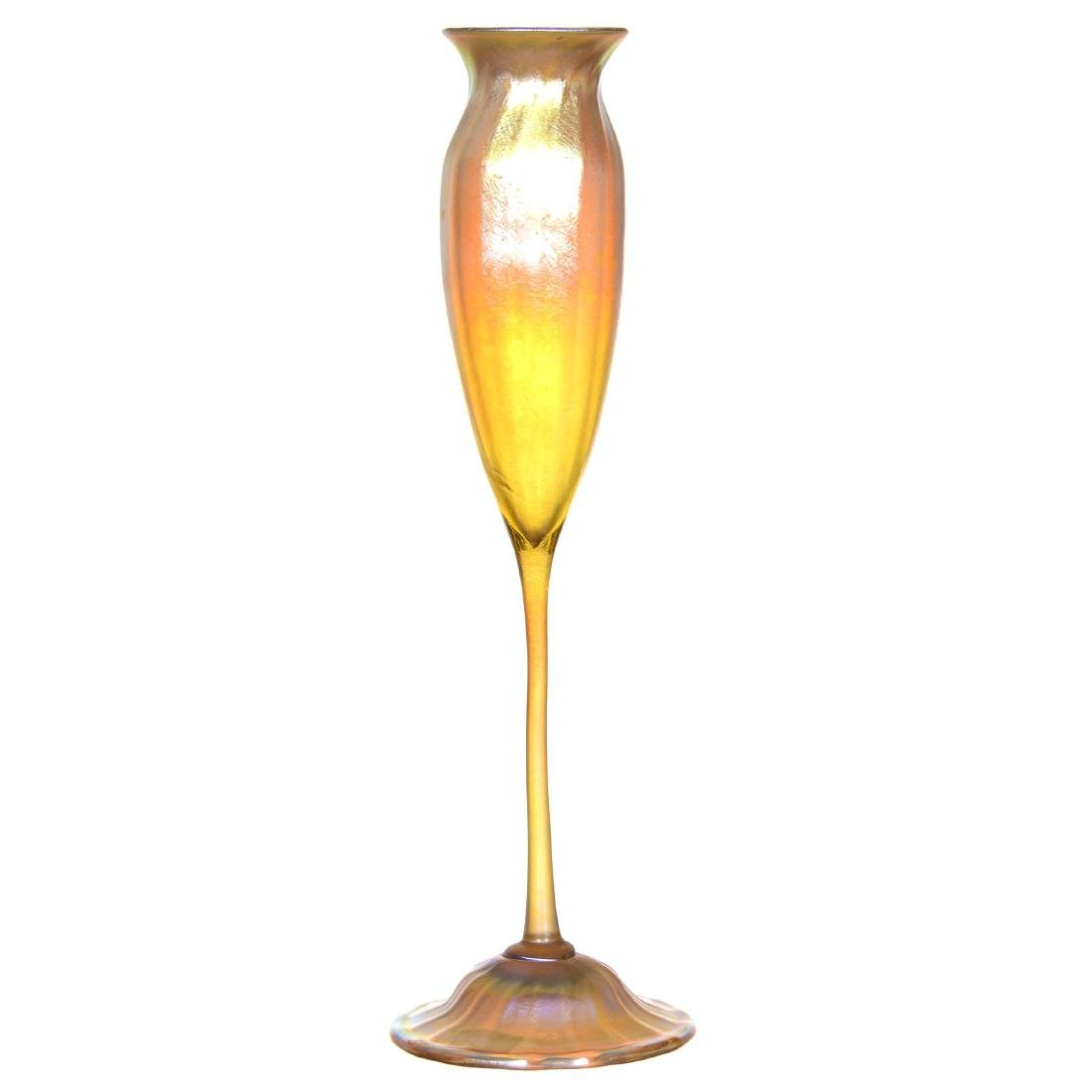 Tiffany Art Glass Flower Form