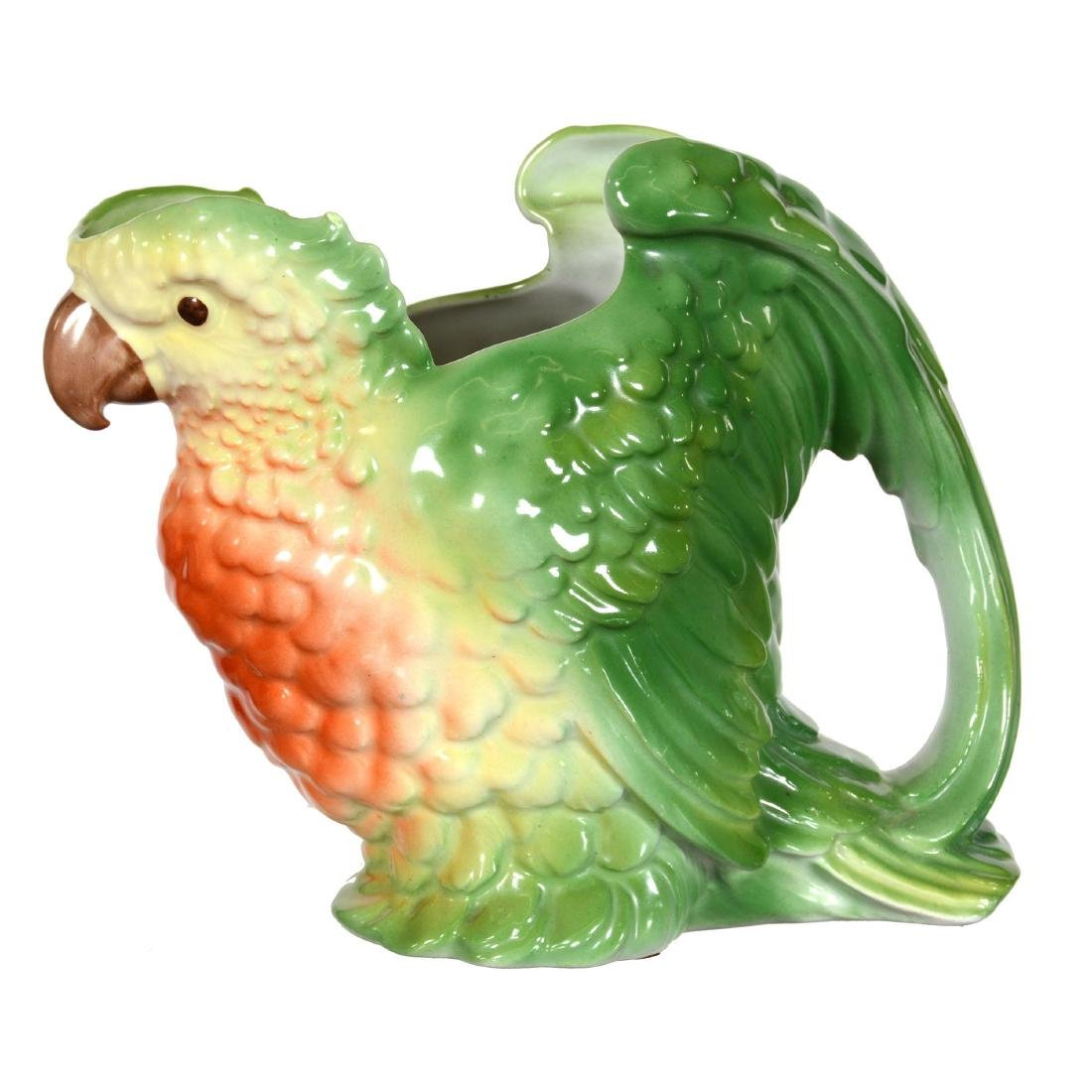 Royal Bayreuth Parakeet Water Pitcher