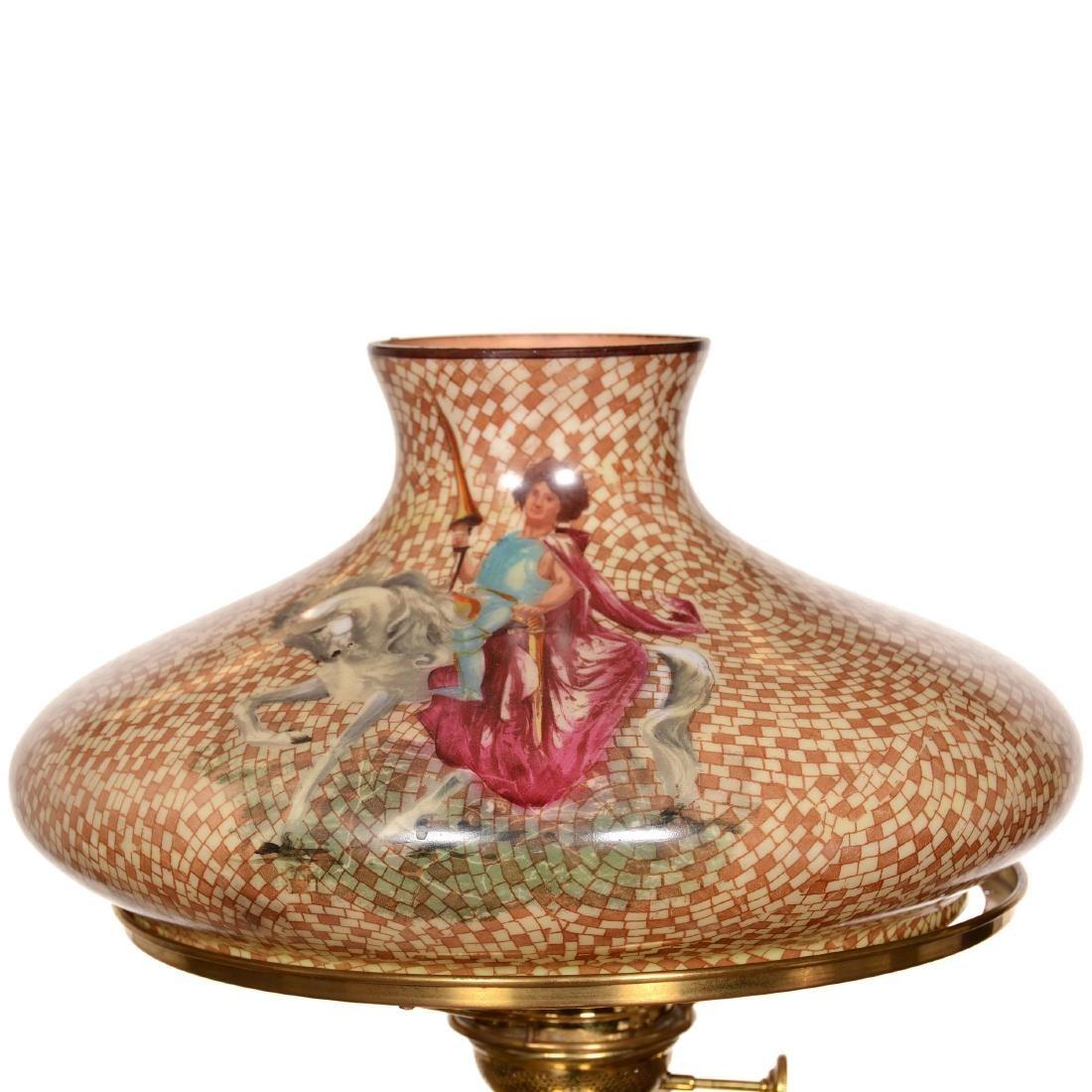 Rare Pittsburgh Banquet Lamp - 3