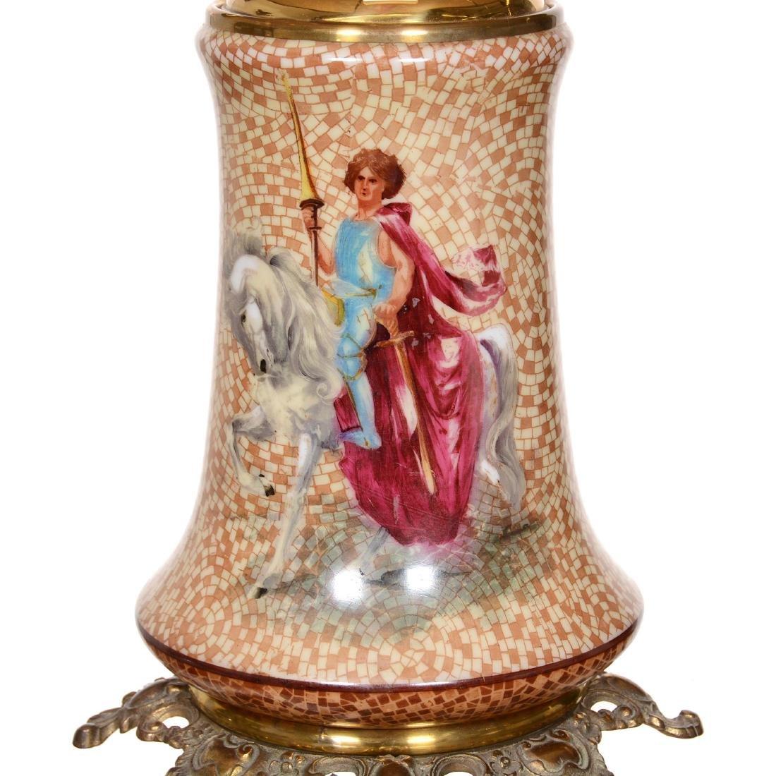Rare Pittsburgh Banquet Lamp - 4