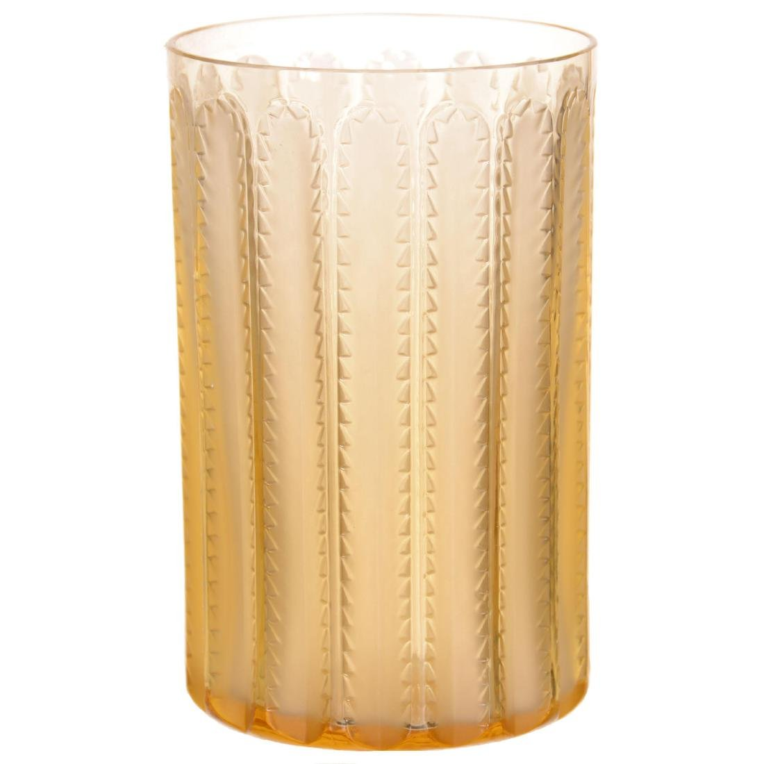 Lalique Art Glass Tumbler