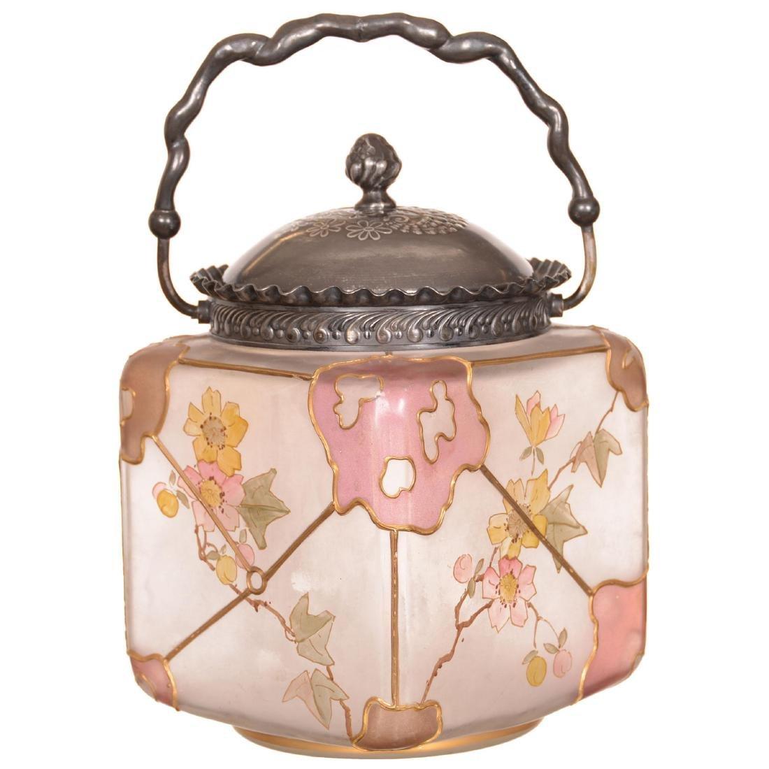 Royal Flemish Biscuit Jar