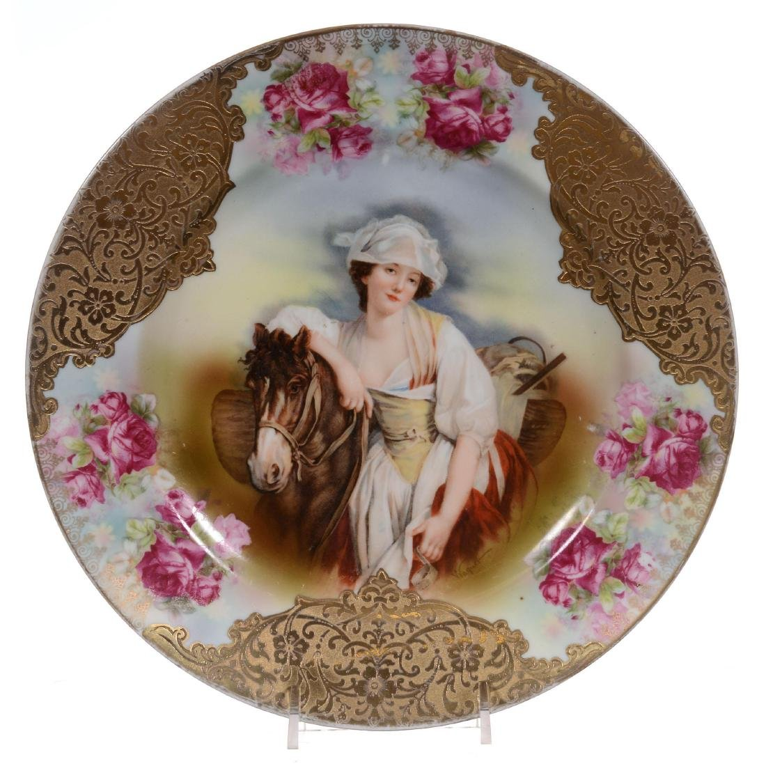 Royal Bayreuth Plate