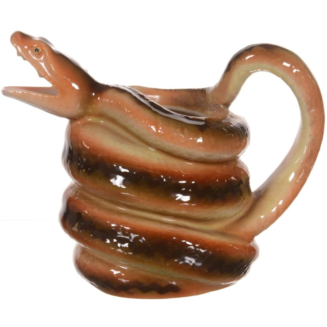 Royal Bayreuth Snake Milk Pitcher