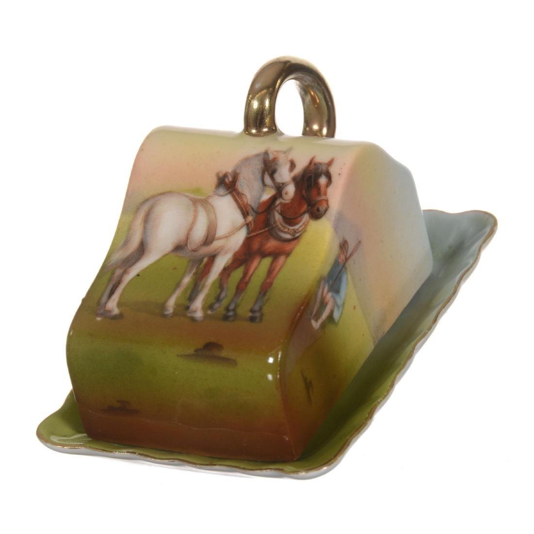 Royal Bayreuth Miniature Cheese Dish