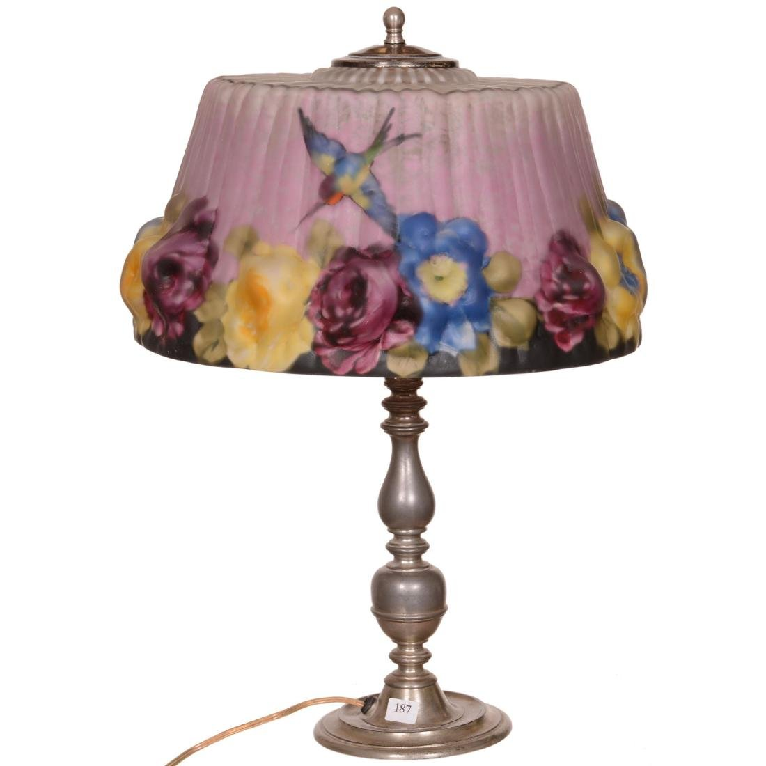 Original Pairpoint Puffy Table Lamp