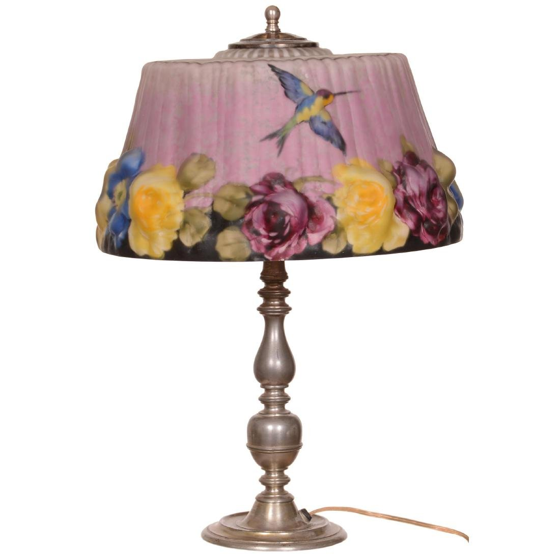 Original Pairpoint Puffy Table Lamp - 2