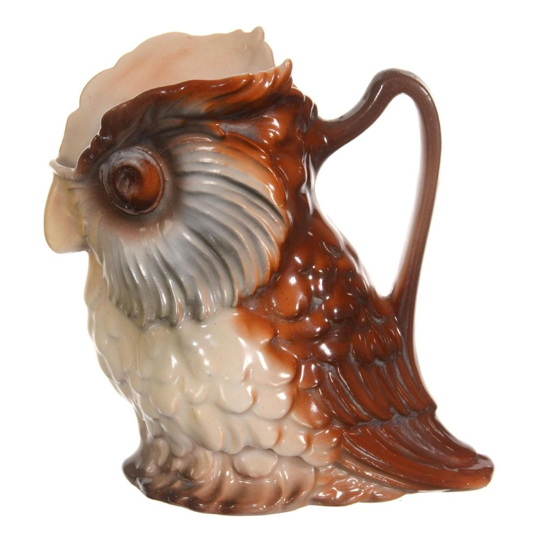 Royal Bayreuth Owl Milk Pitcher