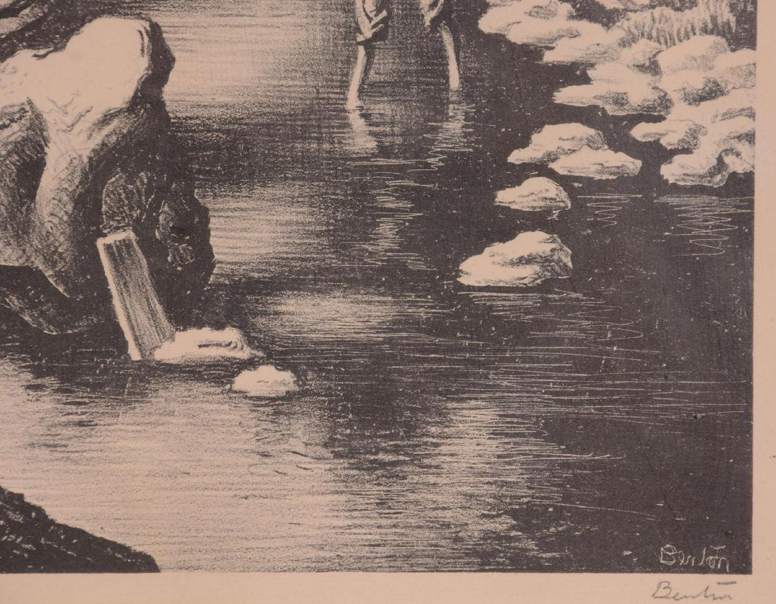 Original Thomas Hart Benton Lithograph - 2
