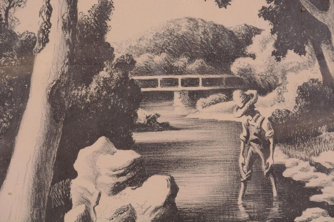 Original Thomas Hart Benton Lithograph - 3