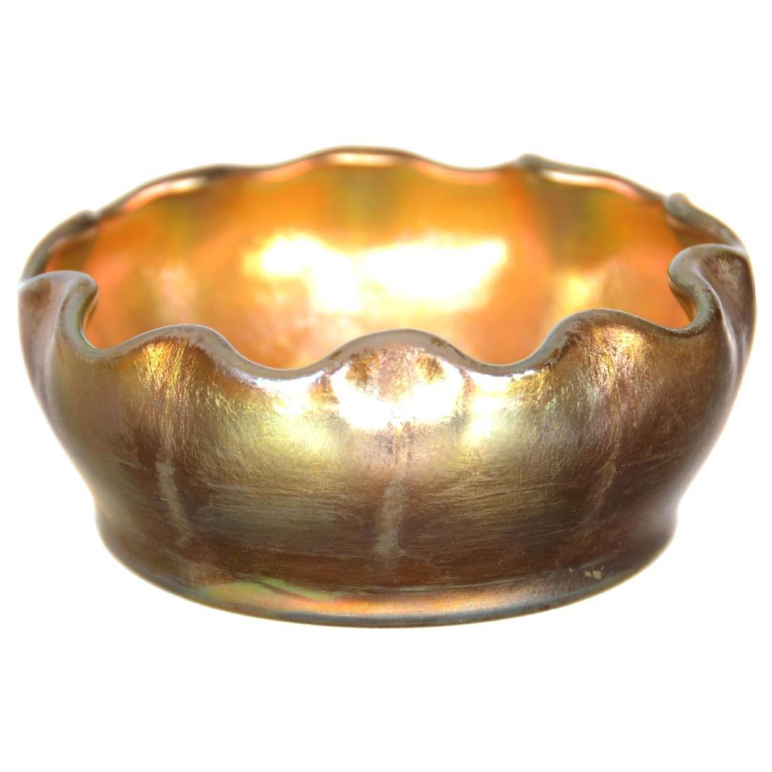 Tiffany Art Glass Salt Dip