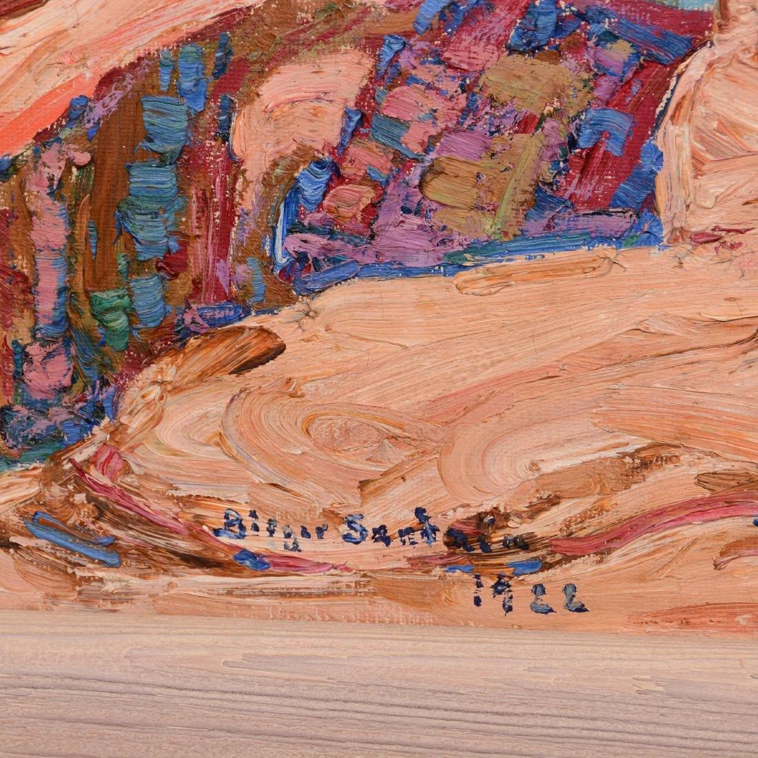 Original Birger Sandzen Oil Painting on Canvas - 2
