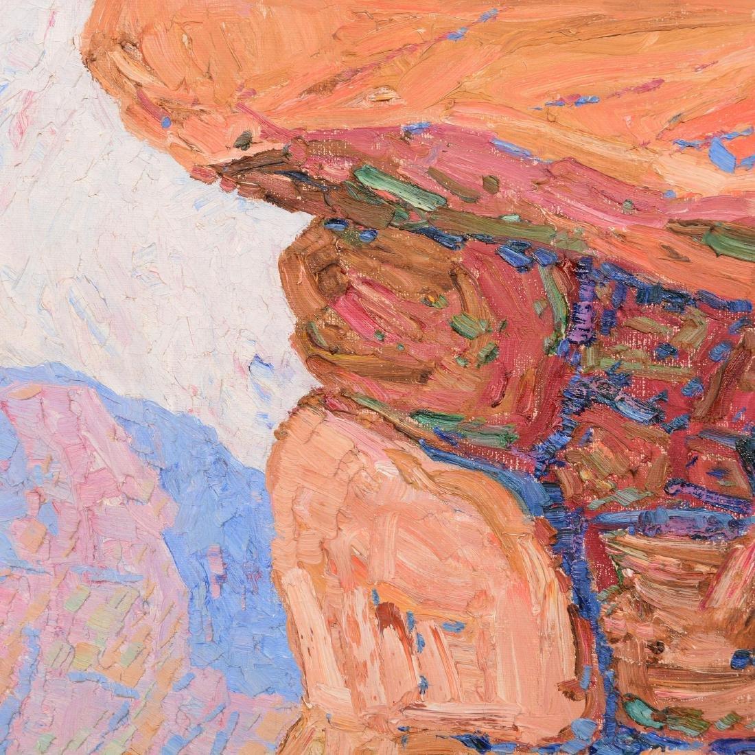 Original Birger Sandzen Oil Painting on Canvas - 3