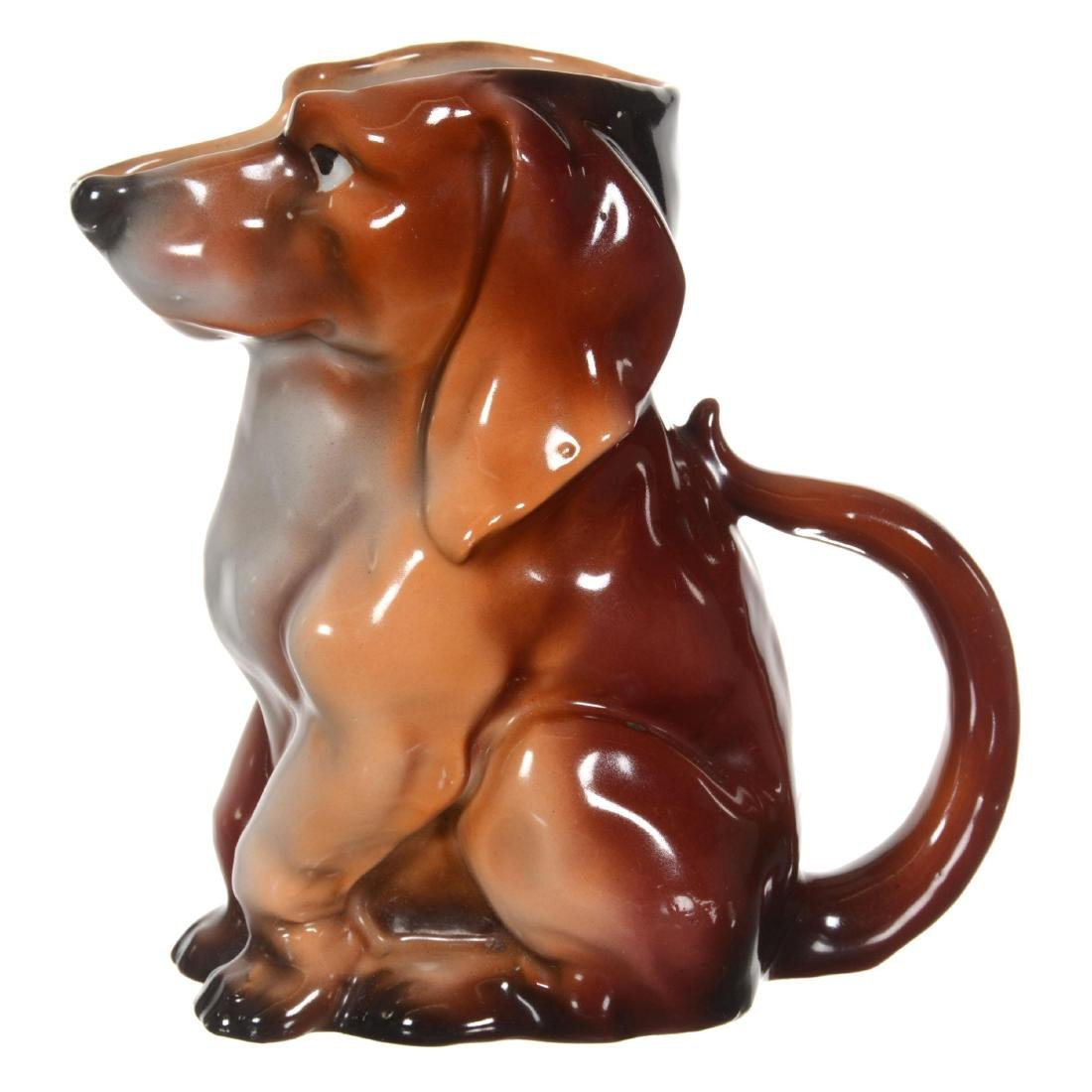 Royal Bayreuth Dachshund Water Pitcher