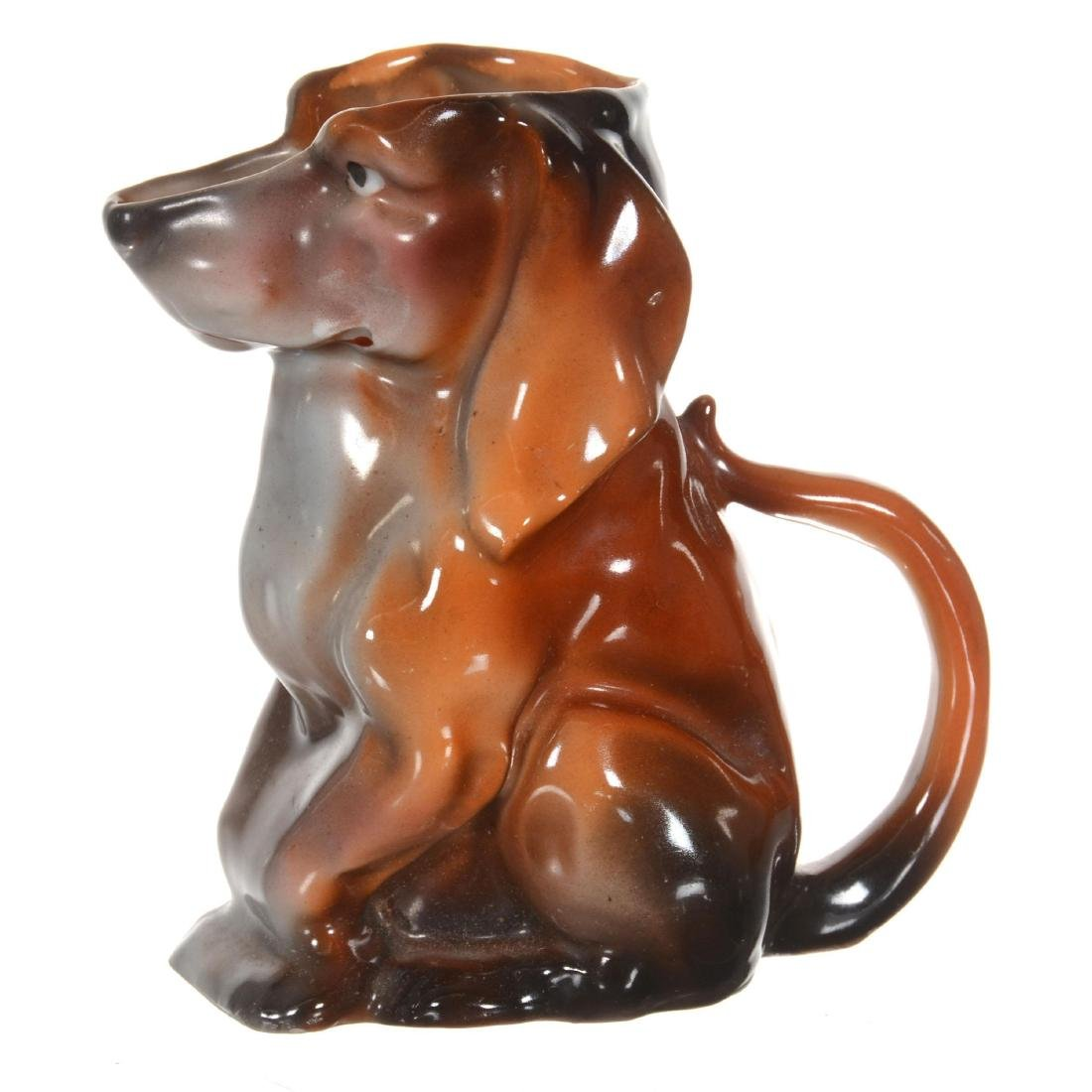 Royal Bayreuth Dachshund Milk Pitcher
