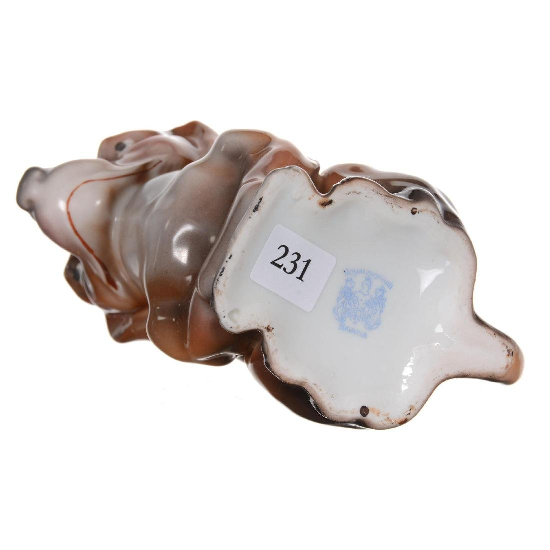 Royal Bayreuth Dachshund Milk Pitcher - 3