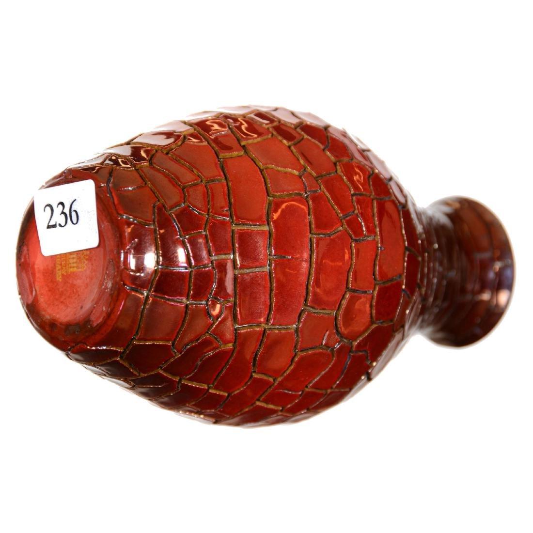 Zsolnay Art Pottery Vase - 2