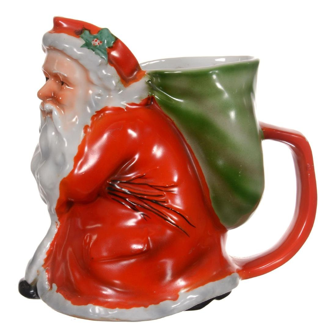 Royal Bayreuth Santa Claus Lemonade Pitcher