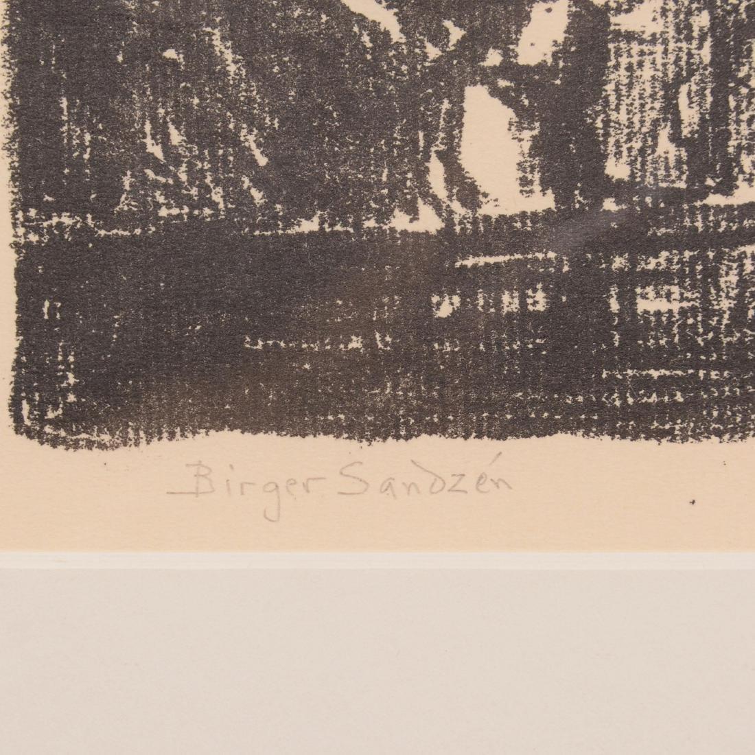 Original Birger Sandzen Lithograph - 3