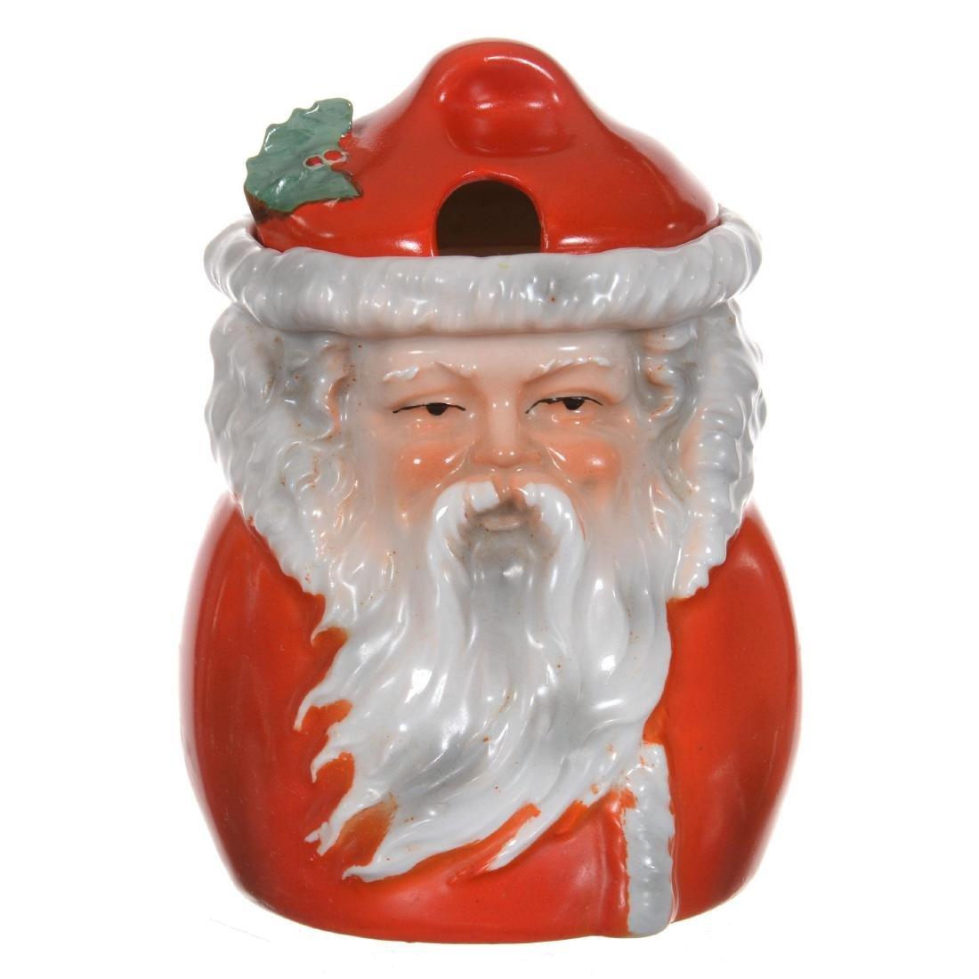 Royal Bayreuth Santa Claus Jam Jar