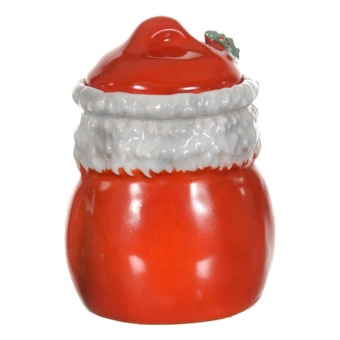 Royal Bayreuth Santa Claus Jam Jar - 2