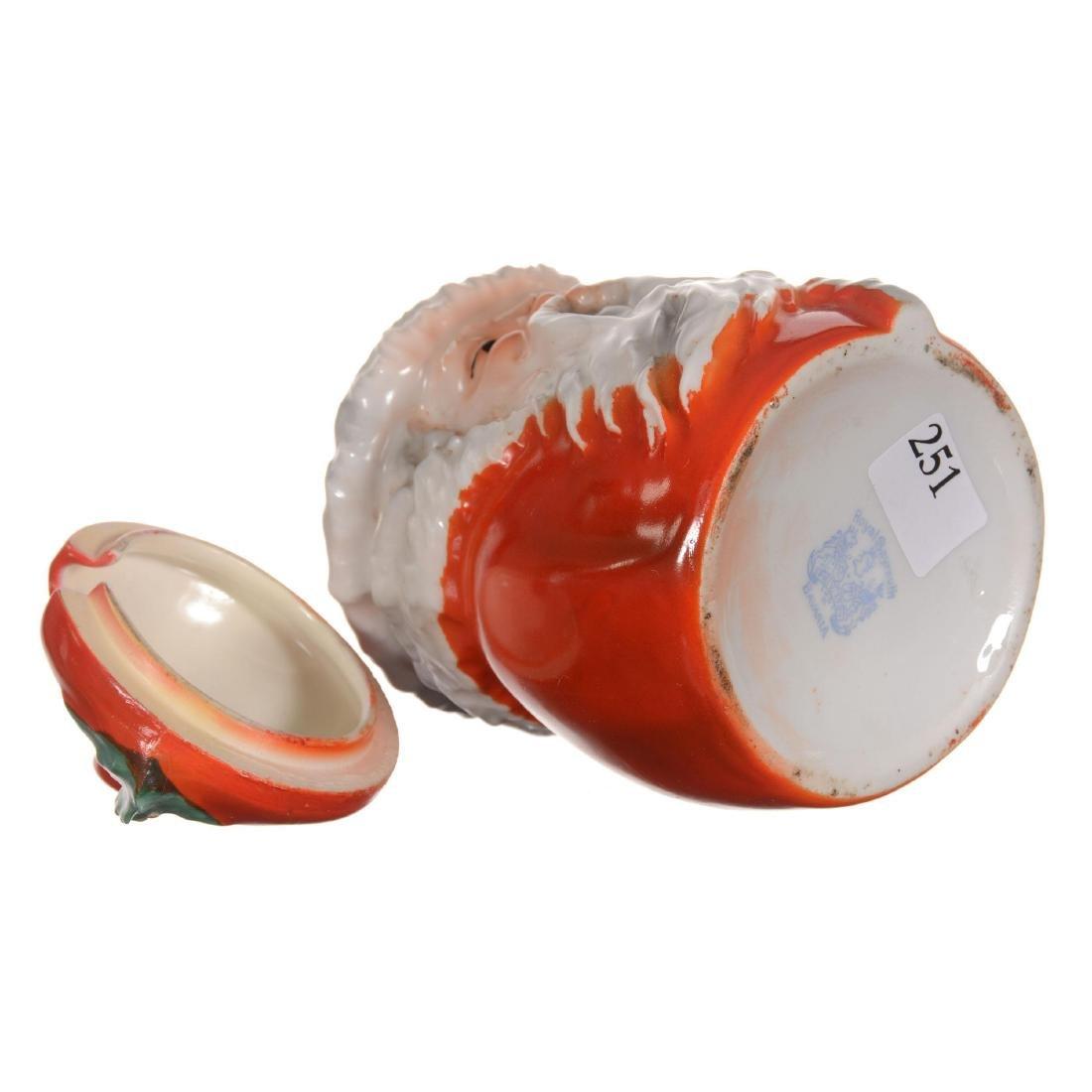 Royal Bayreuth Santa Claus Jam Jar - 3