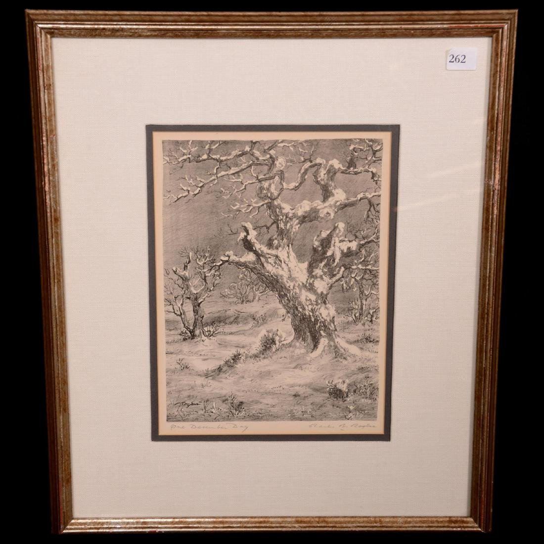 Original Charles B. Rogers Lithograph