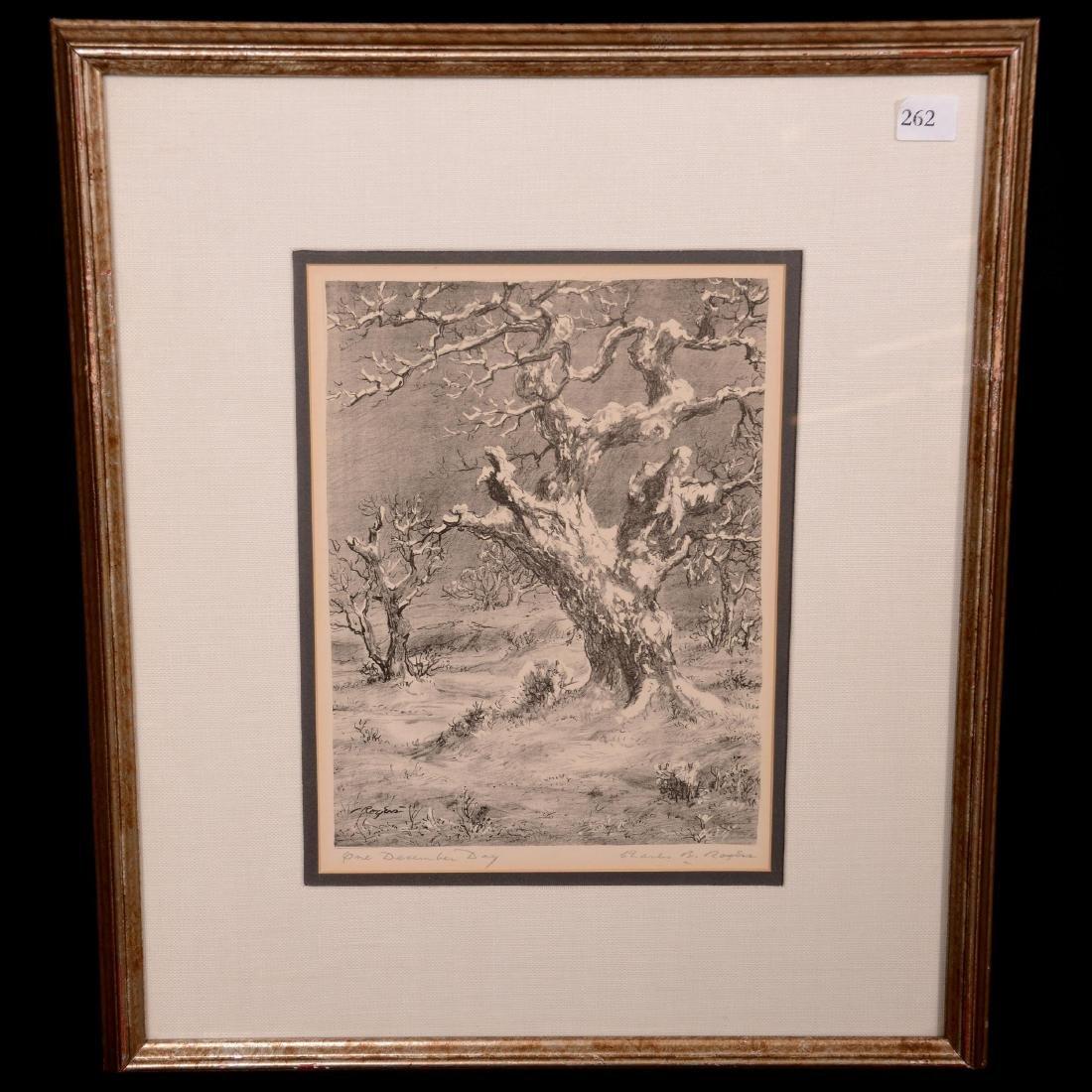 Original Charles B. Rogers Lithograph