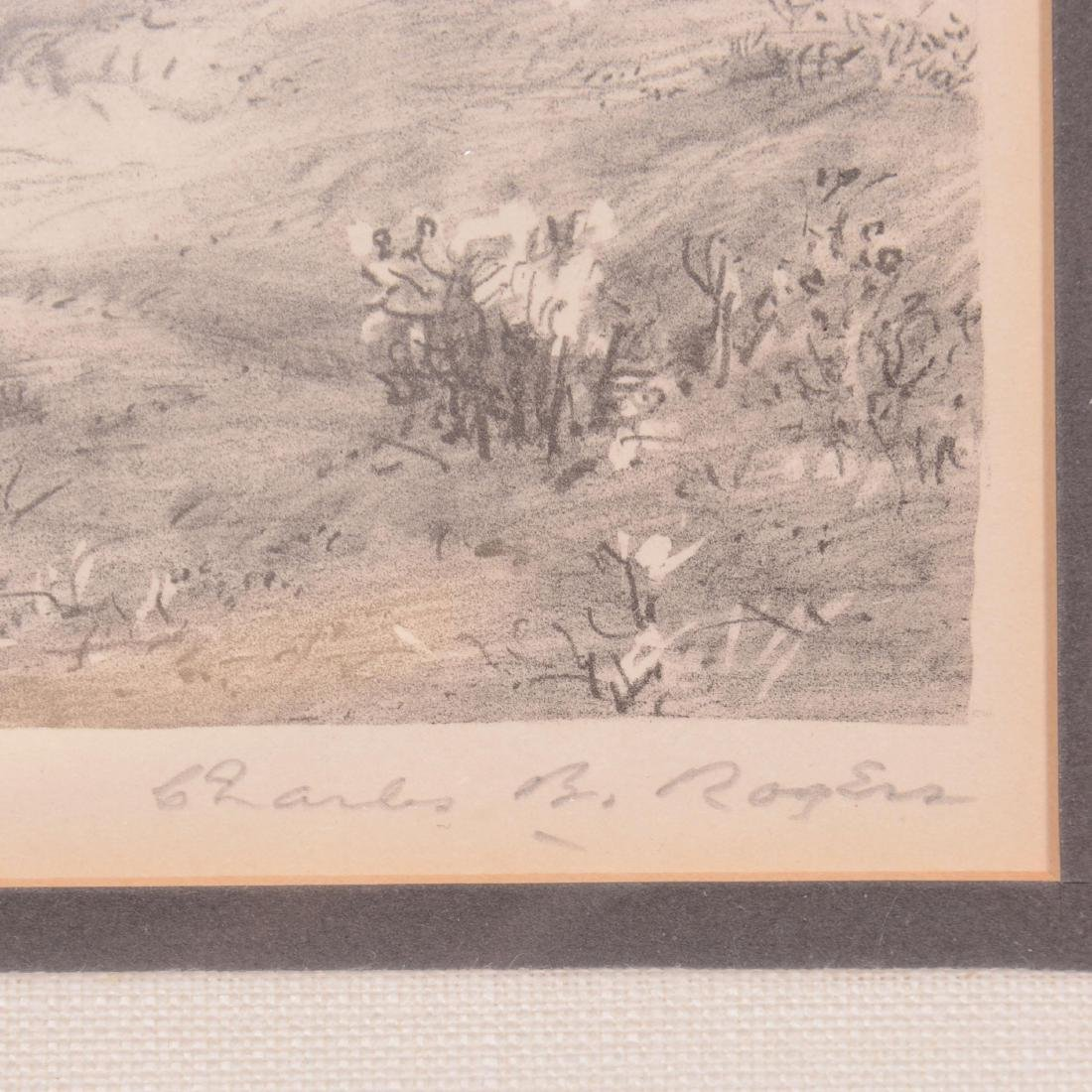 Original Charles B. Rogers Lithograph - 2