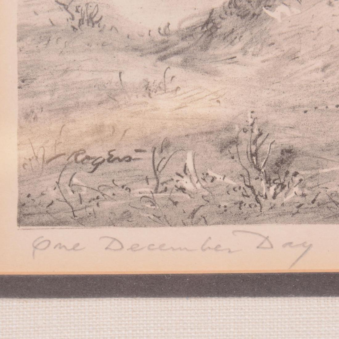 Original Charles B. Rogers Lithograph - 3