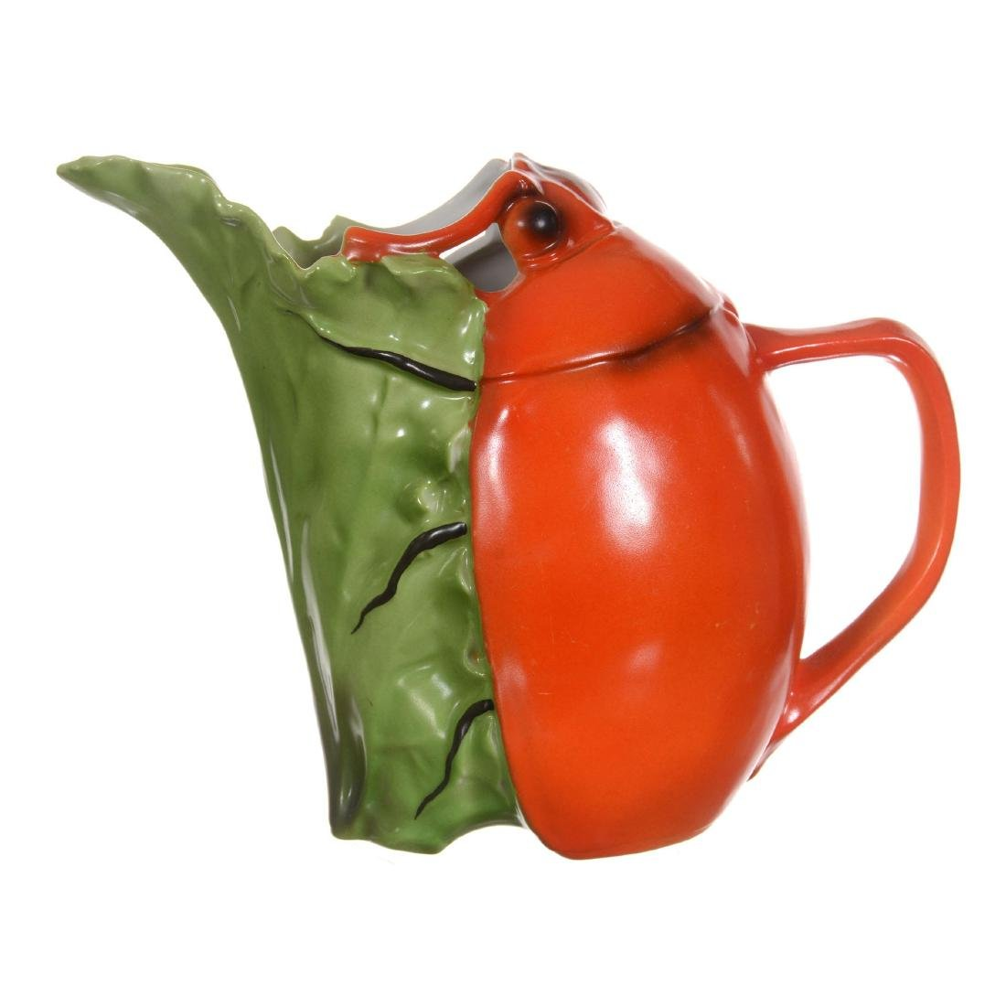 Royal Bayreuth Beetle Water Pitcher