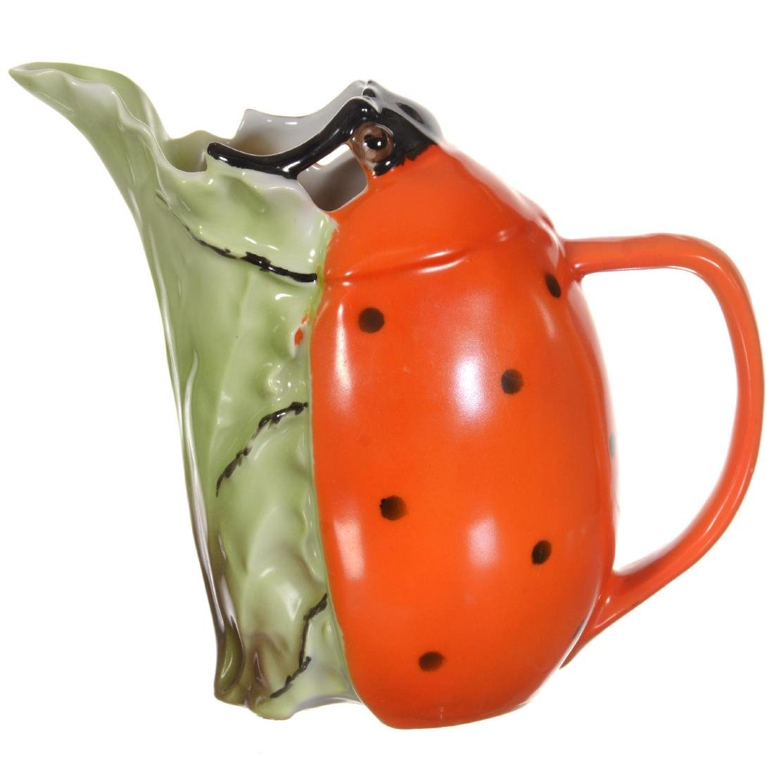 Royal Bayreuth Ladybug Milk Pitcher