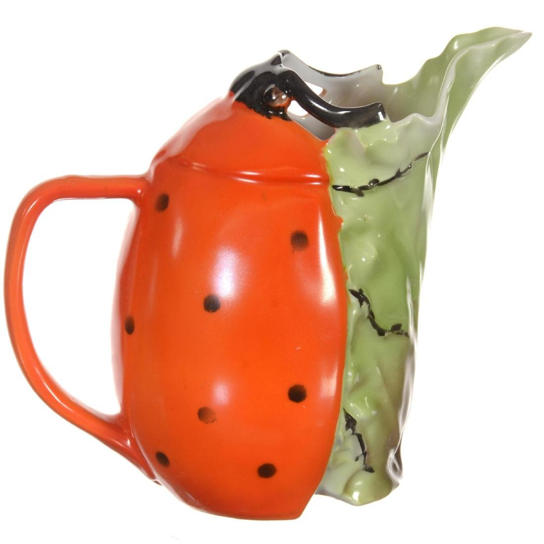 Royal Bayreuth Ladybug Milk Pitcher - 2