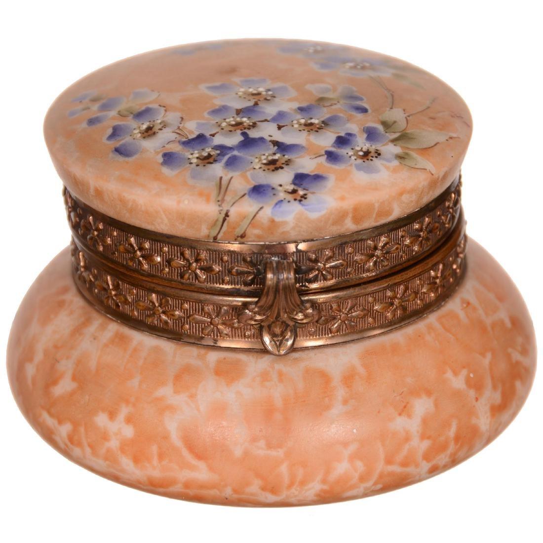 Kelva Hinged Jewel Box